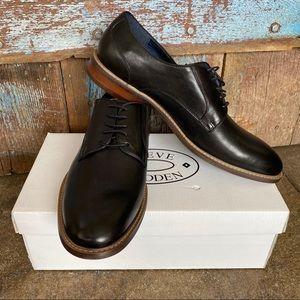 Steve Madden Biltmore Black Oxford Tie Shoe